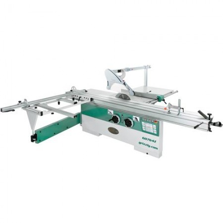 """Grizzly G0764Z 14"""" 10 HP 3-Phase Sliding Table Saw"""