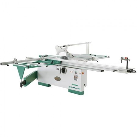 """Grizzly G0699 - 12"""" 7-1/2 HP 3-Phase Sliding Table Saw"""