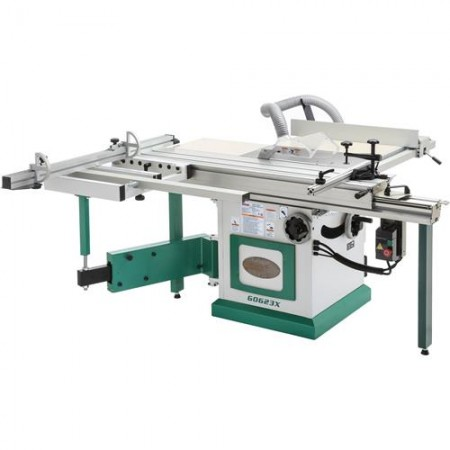 """Grizzly G0623X - 10"""" 5 HP 230V Sliding Table Saw"""