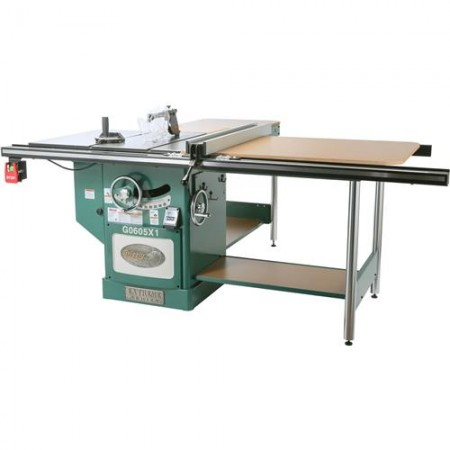 """Grizzly G0605X112"""" 5 HP 220V Extreme Table Saw"""