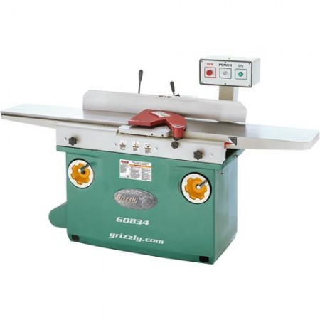 """Grizzly G0834 - 12"""" x 84"""" Jointer"""