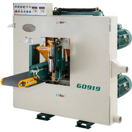 Grizzly G0919 - Twin Head/Dual-Blade Resaw Bandsaw
