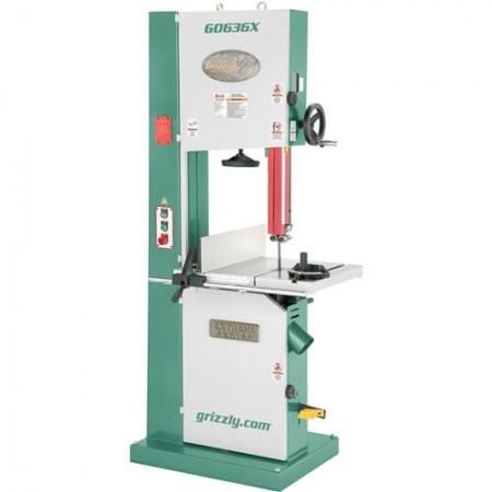 """Grizzly G0636X - 17"""" 5 HP Ultimate Bandsaw"""