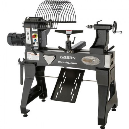 """Grizzly G0835 - 24"""" x 24"""" Bowl-Turning Wood Lathe"""