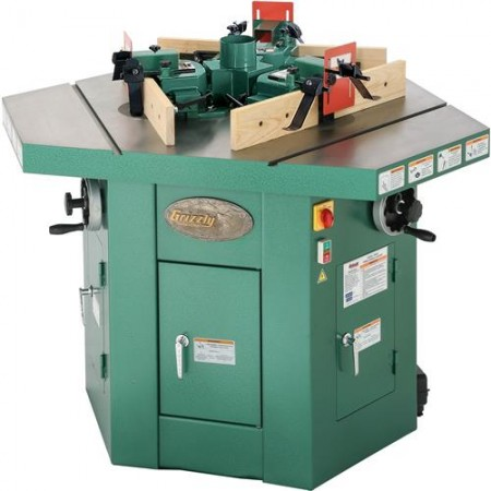 Grizzly G9933 - 3 HP Three-Spindle Shaper