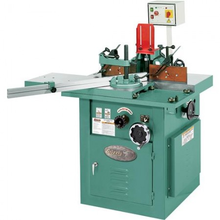 Grizzly G8622 - 5 HP Sliding Table Shaper