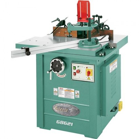 Grizzly G8621 - 5 HP Sliding Table Shaper