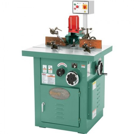 Grizzly G5913Z - 5 HP Professional Tilting Spindle Shaper