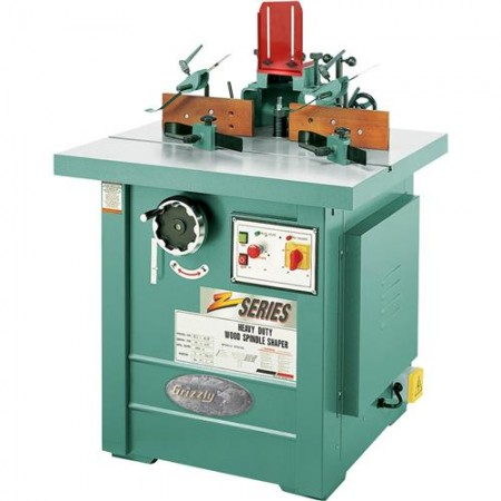Grizzly G7214Z - 7-1/2 HP 3-Phase Spindle Shaper