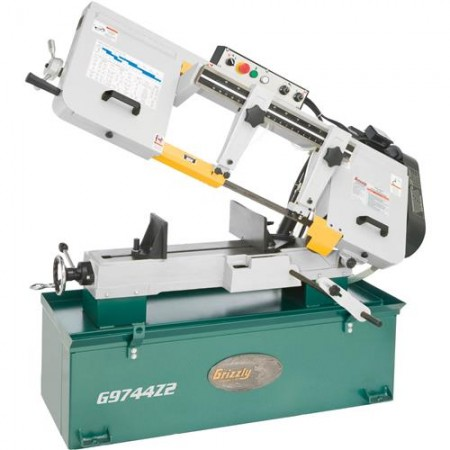 """Grizzly G9744Z2 - 10"""" x 18"""" 1-1/2 HP Metal-Cutting Bandsaw"""